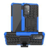 RMPACK Samsung Galaxy A52 5G Ütésálló Tok Kitámasztható 2in1 Hybrid Kék