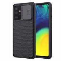 RMPACK Samsung Galaxy A52 5G Nillkin Tok CamShield Pro Kameravédővel Ütésállókivitel Fekete