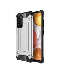 RMPACK Samsung Galaxy A72 5G Ütésálló Armor Tok Guard Series 2in1 Ezüst
