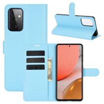 RMPACK Samsung Galaxy A72 5G Notesz Tok Business Series Kitámasztható Bankkártyatartóval Világoskék