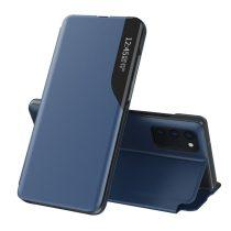 RMPACK Samsung Galaxy A72 5G Notesz Tok Ablakos View Window Series Kitámasztható Kék