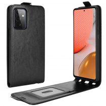 RMPACK Samsung Galaxy A72 5G Flip Tok Kártyatartóval Mágneses Fekete