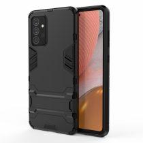 RMPACK Samsung Galaxy A72 5G Tok 2in1 Ütésálló - Kitámasztható TPU Hybrid Fekete