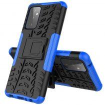 RMPACK Samsung Galaxy A72 5G Ütésálló Tok Kitámasztható 2in1 Hybrid Kék