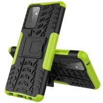 RMPACK Samsung Galaxy A72 5G Ütésálló Tok Kitámasztható 2in1 Hybrid Zöld