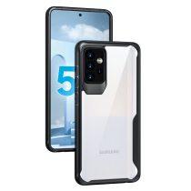 RMPACK Samsung Galaxy A72 5G ShockProof Ütésálló Tok 360 Totally Protection PC+TPU Fekete