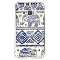 Samsung Galaxy J1 (2016) Mintás Szilikon Tok RMPACK Life&Sweet Series W017