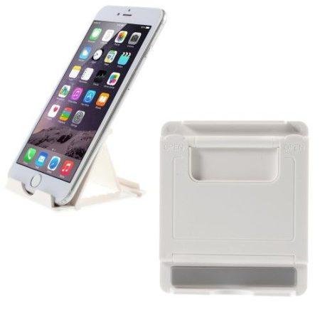 Tablet / Telefon Kitámasztó - Állvány Tartó Fehér