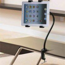 Asztalra Rögzíthető Tablet Állvány Tartó Befogóval - Állítható 7-10.1' Tabletekhez