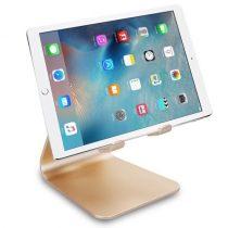 Univerzális Aluminium Állvány - Konzol - Tartó / Tablet és Telefon Arany