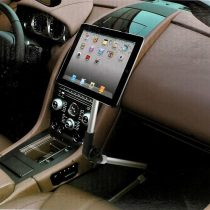 Autóba Rögzíthető Tablet Konzol Állvány Tartó Forgatható Összecsukható 7-10' Tabletek-hez