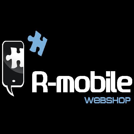 Mobiltelefon autós tartó - Kormányra illeszthető Piros-Fekete