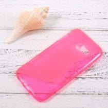 Samsung Galaxy A3 (2017) S-Line Szilikon Tok Pink