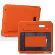 Samsung Galaxy Tab A 10.1 (2016) T580 - Gyerek Tok EVA Védőtok Ütésálló Kivitel Narancssárga