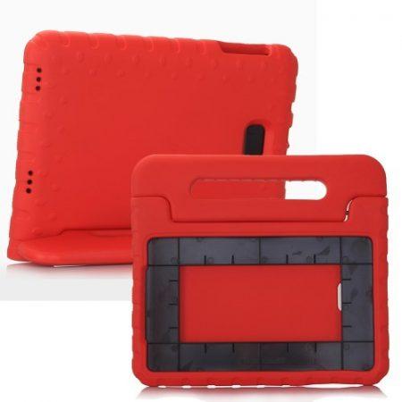 Samsung Galaxy Tab A 10.1 (2016) T580 - Gyerek Tok EVA Védőtok Ütésálló Kivitel Piros
