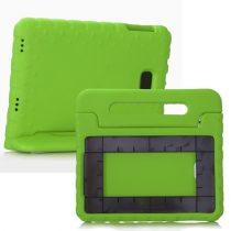 Samsung Galaxy Tab A 10.1 (2016) T580 - Gyerek Tok EVA Védőtok Ütésálló Kivitel Zöld