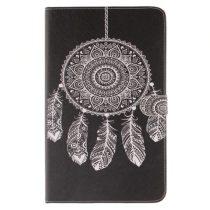 Samsung Galaxy Tab A 10.1 (2016) T580 - Mintás Tok Notesz Szilikon Belsővel A11