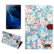 Samsung Galaxy Tab A 10.1 (2016) T580 - Tok Virág Mintás Kitámasztható B02