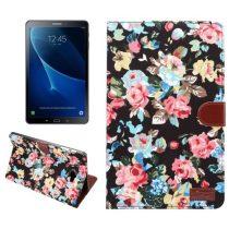 Samsung Galaxy Tab A 10.1 (2016) T580 - Tok Virág Mintás Kitámasztható B03