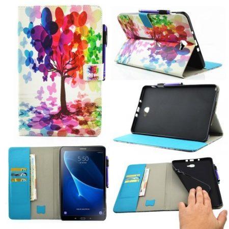 Samsung Galaxy Tab A 10.1 (2016) T580 - Tok Colorful Series RMPACK Mintás C02
