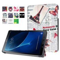 Samsung Galaxy Tab A 10.1 (2016) T580 - Slim Mintás Tablet Tok RMPACK SM02