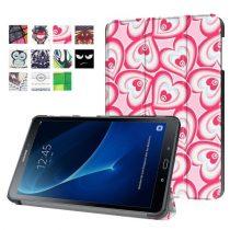 Samsung Galaxy Tab A 10.1 (2016) T580 - Slim Mintás Tablet Tok RMPACK SM03