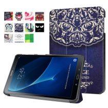 Samsung Galaxy Tab A 10.1 (2016) T580 - Slim Mintás Tablet Tok RMPACK SM04