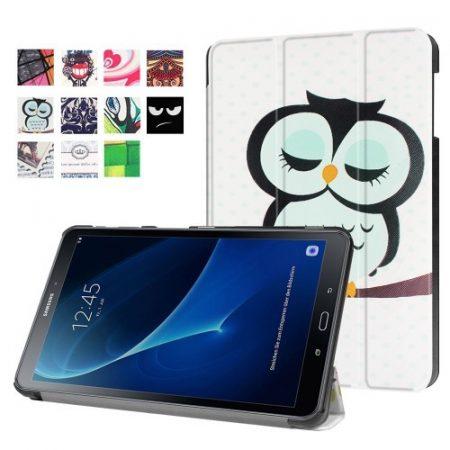 Samsung Galaxy Tab A 10.1 (2016) T580 - Slim Mintás Tablet Tok RMPACK SM05