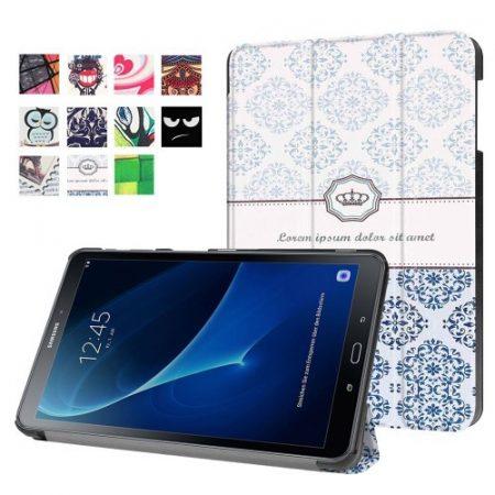 Samsung Galaxy Tab A 10.1 (2016) T580 - Slim Mintás Tablet Tok RMPACK SM07
