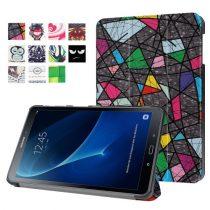 Samsung Galaxy Tab A 10.1 (2016) T580 - Slim Mintás Tablet Tok RMPACK SM08