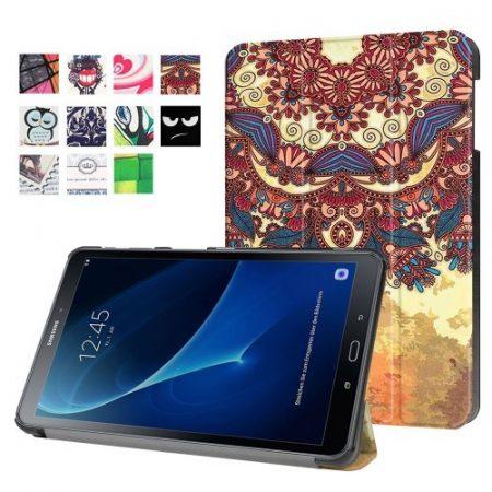 Samsung Galaxy Tab A 10.1 (2016) T580 - Slim Mintás Tablet Tok RMPACK SM10