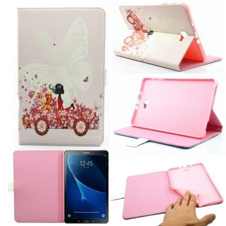 Samsung Galaxy Tab A 10.1 (2016) T580 - RMPACK Lady Series Mintás Szilikon Belsővel LS01