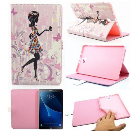 Samsung Galaxy Tab A 10.1 (2016) T580 - RMPACK Lady Series Mintás Szilikon Belsővel LS08