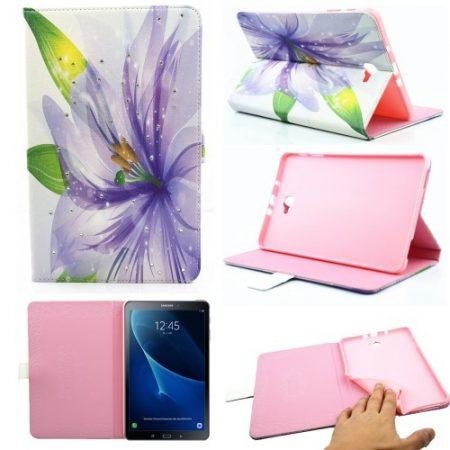 Samsung Galaxy Tab A 10.1 (2016) T580 - RMPACK Lady Series Mintás Szilikon Belsővel LS09