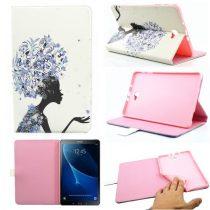Samsung Galaxy Tab A 10.1 (2016) T580 - RMPACK Lady Series Mintás Szilikon Belsővel LS12