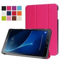 Samsung Galaxy Tab A 10.1 (2016) T580 - Tri-fold Slim Notesz Tok (AutoWakeUp) Pink