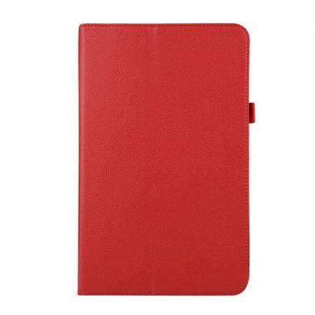 Samsung Galaxy Tab A 10.1 (2016) T580 - Mágneses AutoWakeUp Tok Kitámasztható Belsőkerettel Piros