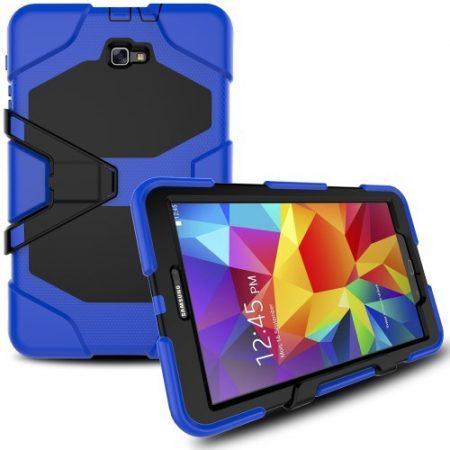 Samsung Galaxy Tab A 10.1 (2016) T580 - Ütésálló Tok Duty Series RMPACK Kék