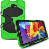 Samsung Galaxy Tab A 10.1 (2016) T580 - Ütésálló Tok Duty Series RMPACK Zöld