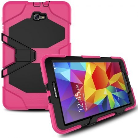 Samsung Galaxy Tab A 10.1 (2016) T580 - Ütésálló Tok Duty Series RMPACK Pink
