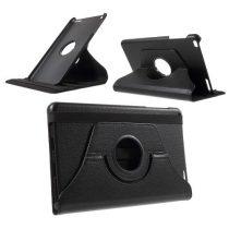 Huawei MediaPad T1 10 Forgatható Notesz Tok Kitámasztható Fekete