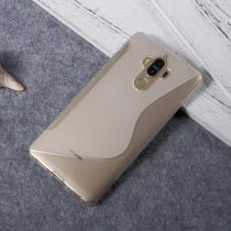 Huawei Mate 9 Szilikon Tok TPU S-Line Áttetsző