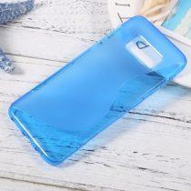 Samsung Galaxy S8 Szilikon Tok TPU S-Line Kék
