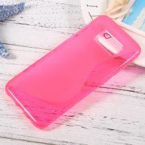 Samsung Galaxy S8 Szilikon Tok TPU S-Line Pink