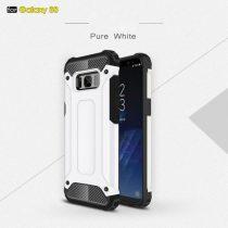 Samsung Galaxy S8 Guard Armor Tok Ütésálló 2in1 (Szilikon+Műanyag) Fehér