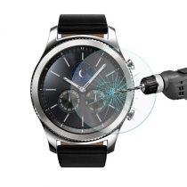 Samsung Gear S3 Classic / Frontier Kijelzővédő - Tempered Glass 9H