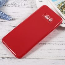 Samsung Galaxy S8+ / Galaxy S8 Plus TPU Szilikon Tok Fényes - Glossy Series Piros