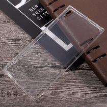 Sony Xperia XA1 Ultra Szilikon Tok Drop-Resistant Ütésálló Kivitel Áttetsző