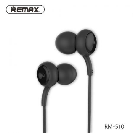 Fülhallgató - Headset / REMAX 510 In-Ear Touch Fekete