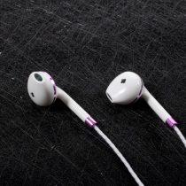 Fülhallgató - Headset / PINZUN P13 Rózsaarany